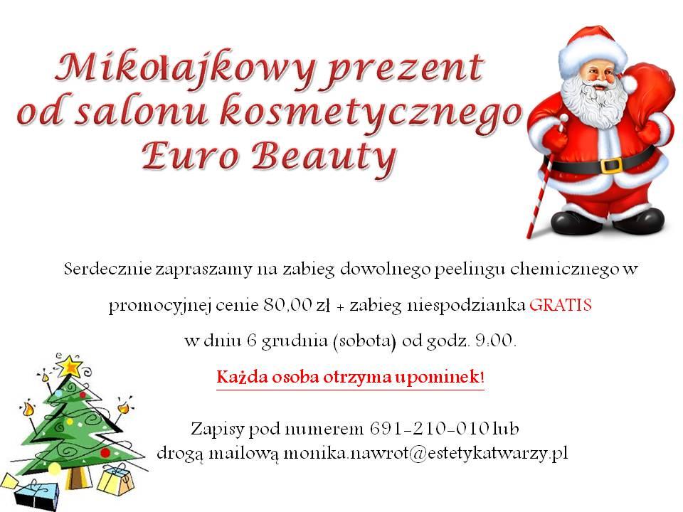 Mikołajkowy prezent od salonu kosmetycznego